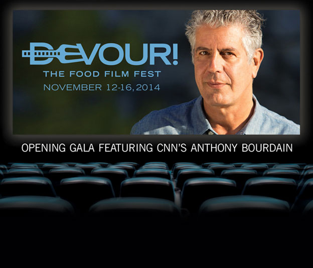 Devour! Opening Gala Film Featuring Anthony Bourdain: Eat Drink Man Woman & Devour! Opening Gala Post-Reception
