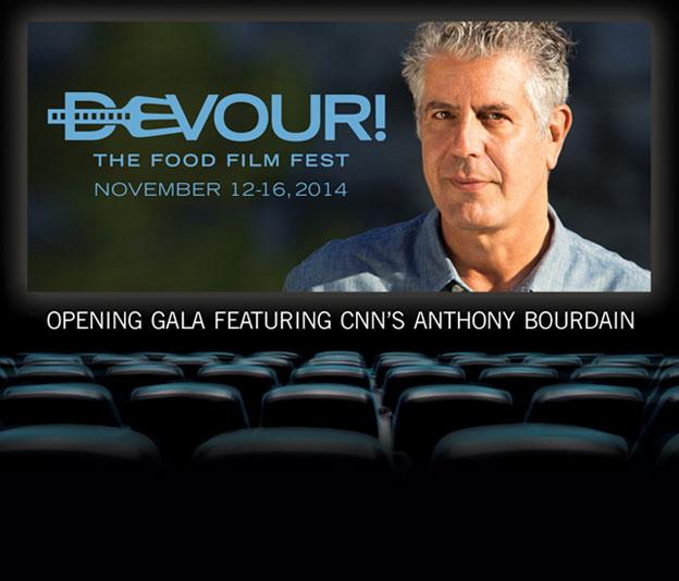 Devour! Opening Gala Film Featuring Anthony Bourdain: Eat Drink Man Woman & Devour! Opening Gala Post-Reception