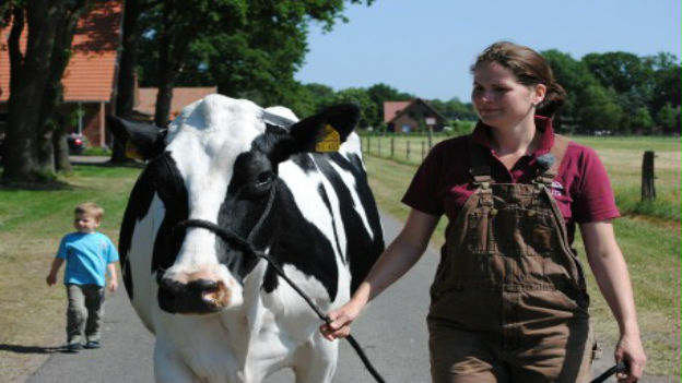 Beautiful Krista w/Neal's Yard Dairy