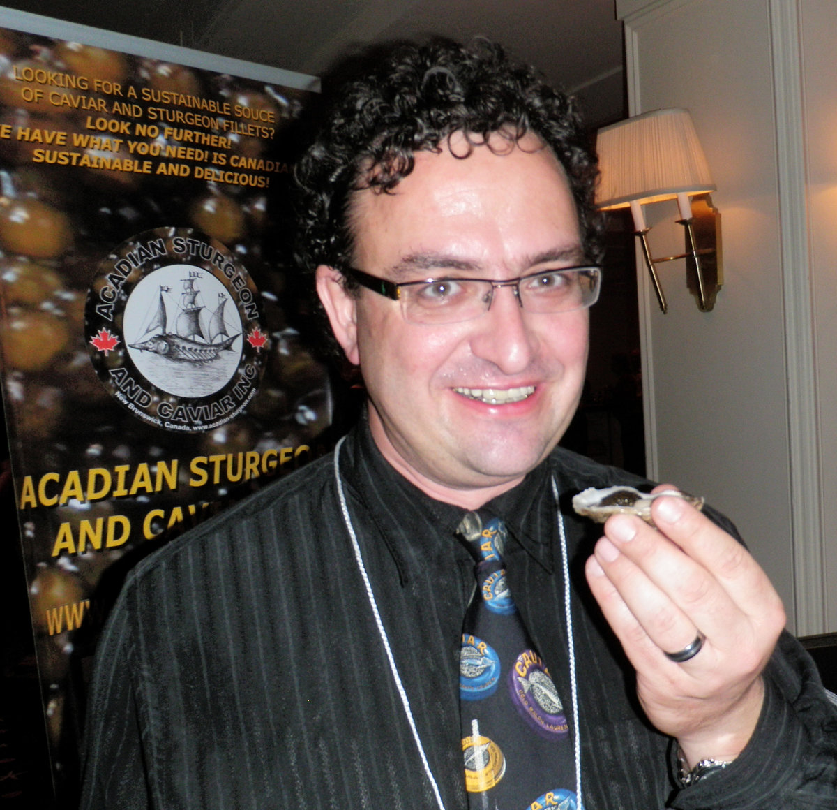 Guided Tasting by Jeremy Bonia & Kim Cyr: Nova Scotia's Traditional Method Sparkling & Acadian Sturgeon Caviar