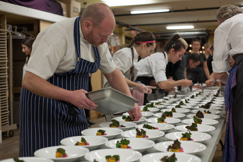 Celebrity Chef Dinner with John Sundstrom, Dale MacKay, Ray Bear, Andru Branch & Mark Gray