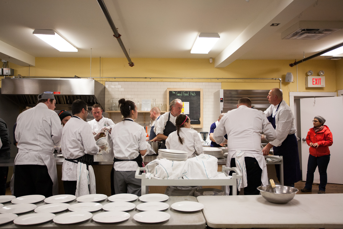 Celebrity Chef Dinner with Normand Laprise, John Higgins, Stephen Wall, Ardon Mofford & Martin Ruíz Salvador