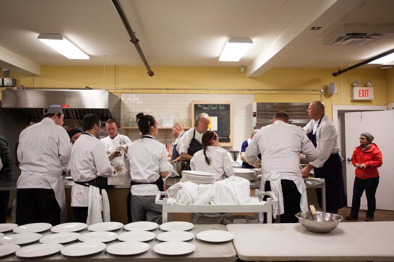 Celebrity Chef Dinner with Normand Laprise, John Higgins, Stephen Wall, Ardon Mofford & Martin Ruíz Salvador