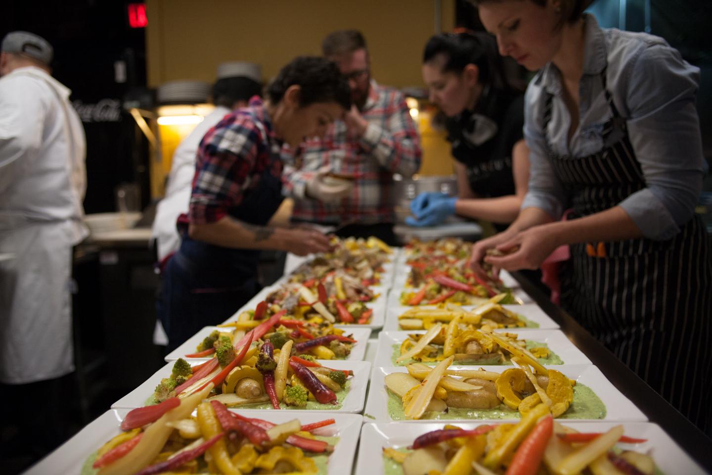 Celebrity Chef Dinner with Barbara Lynch, Mary Sue Milliken, Christine Flynn, Renée Lavallée, Bee Choo Char, Laura MacLeod & Charlotte Langley