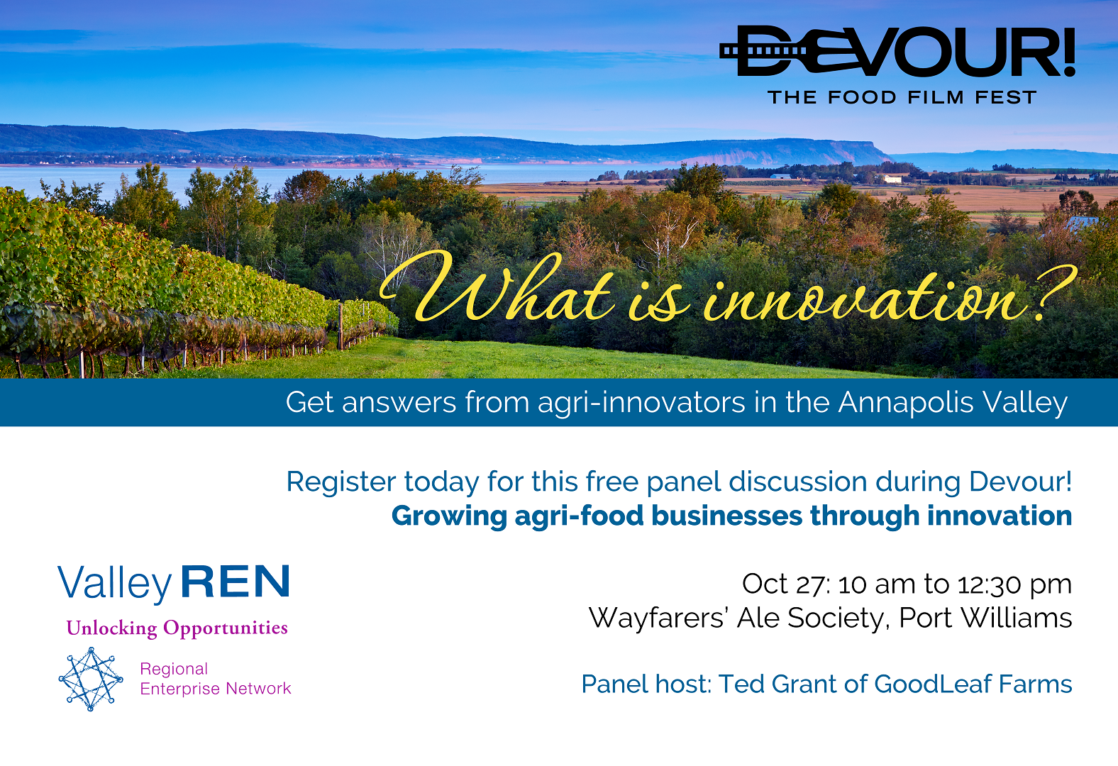 What is Innovation? Growing agri-food businesses through innovation