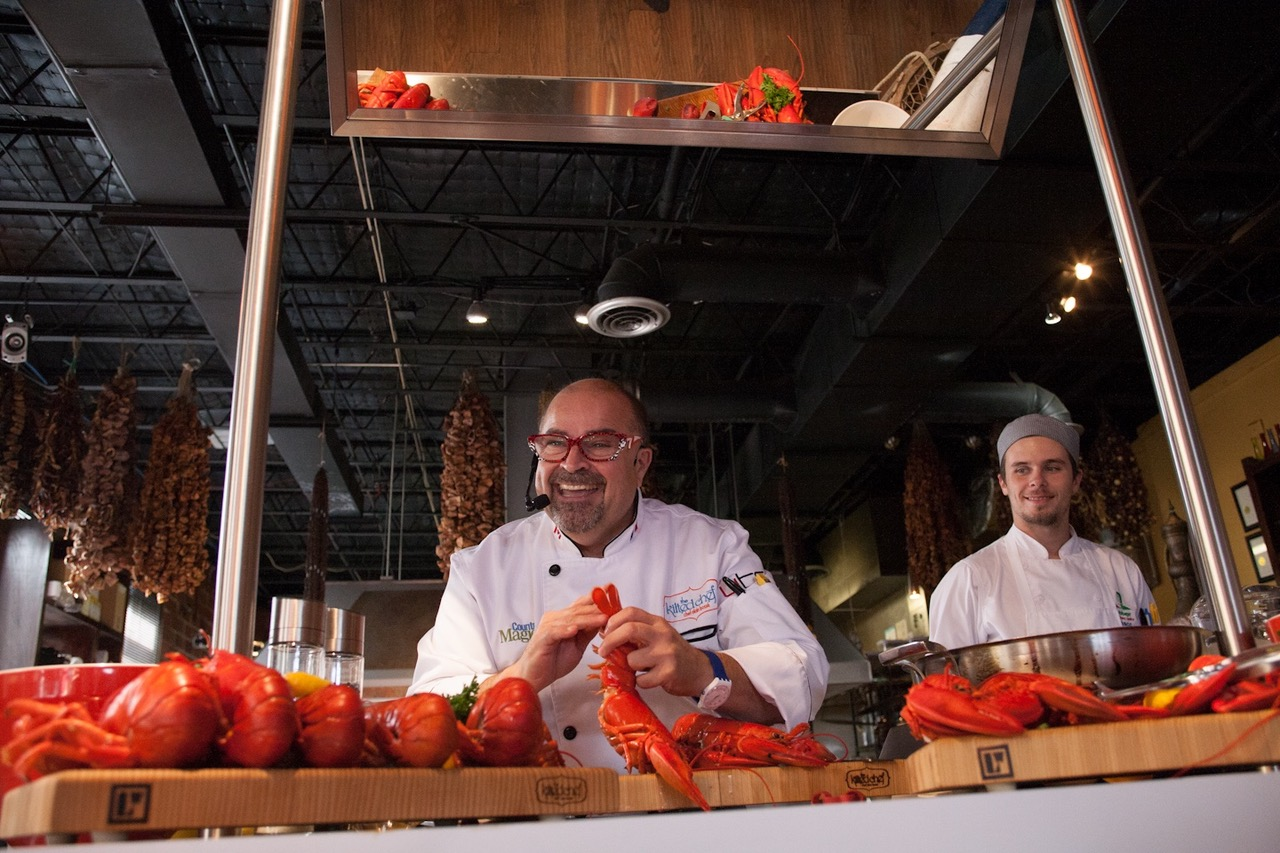 First Annual Devour! Down Home Lobster Supper with Chef Alain Bossé