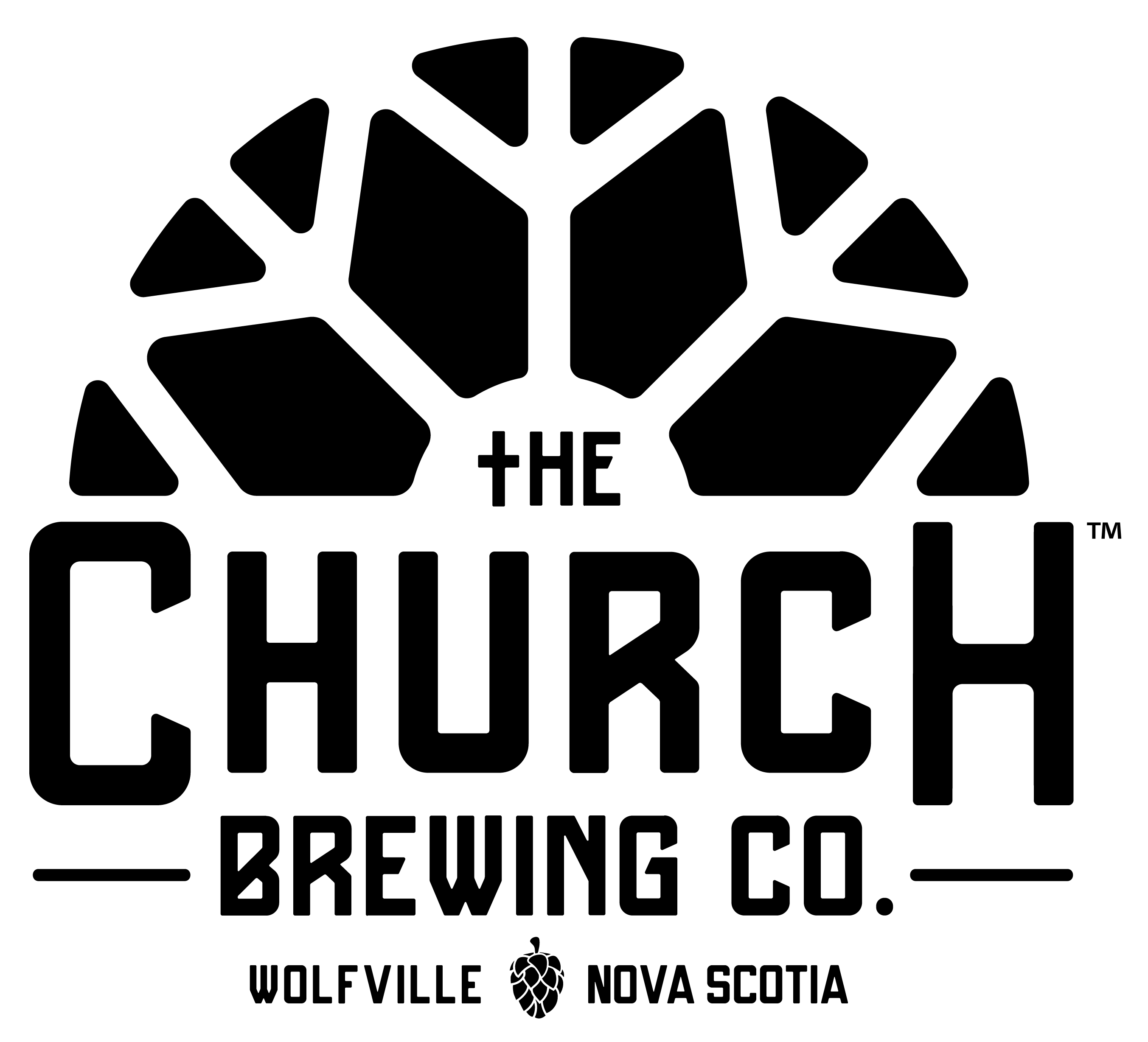 Church Brewing Company logo
