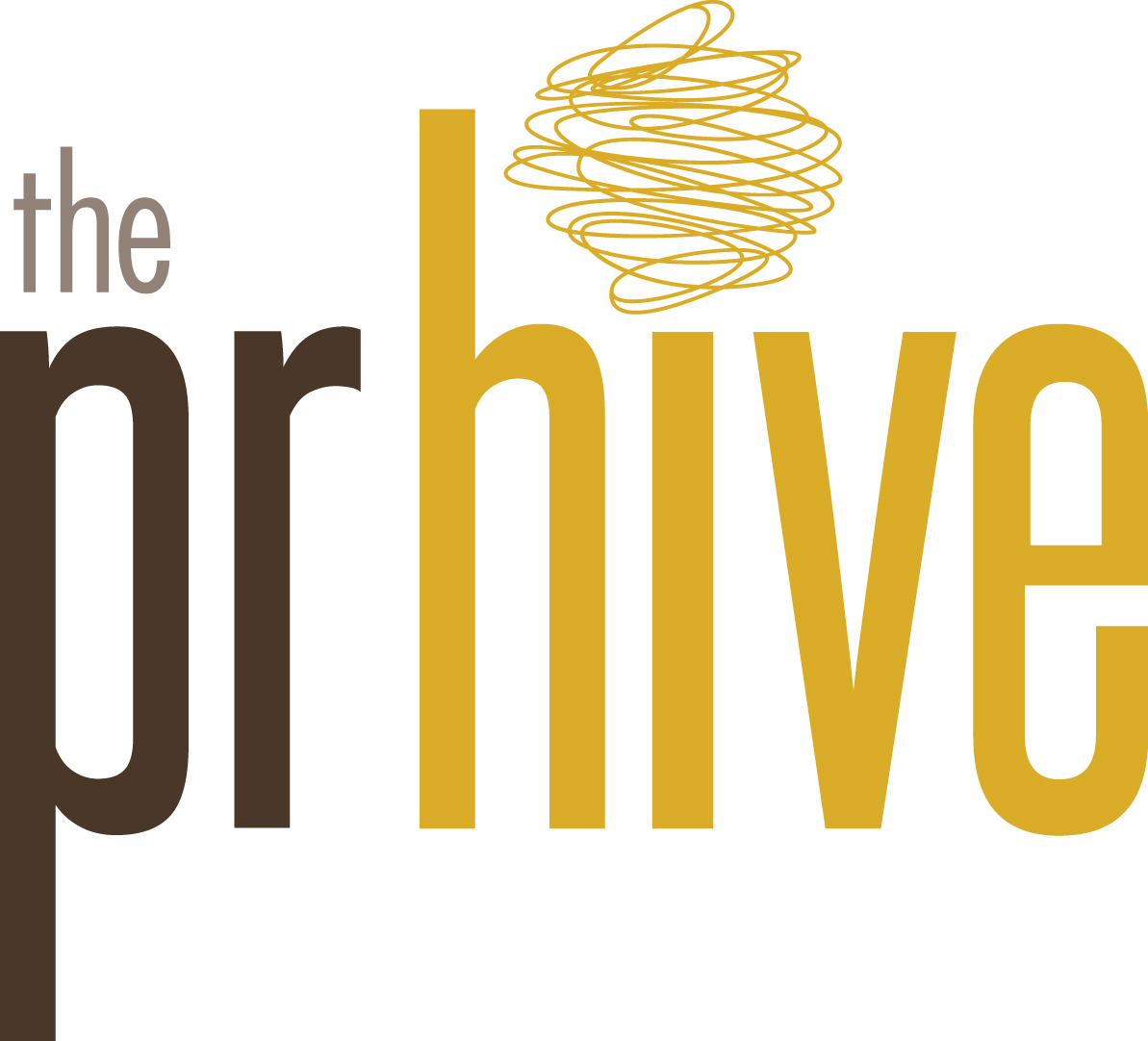 The PR Hive logo
