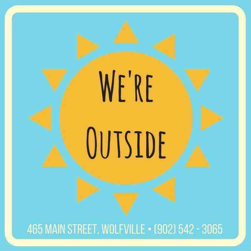 We're Outside Outdoor Outfitters logo